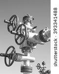 oil pump latch | Shutterstock . vector #393341488