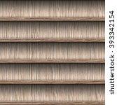 seamless wooden shelves for...   Shutterstock . vector #393342154
