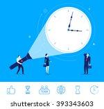 flat design vector concept... | Shutterstock .eps vector #393343603