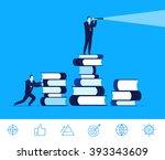 flat design vector concept... | Shutterstock .eps vector #393343609