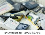 Small photo of old lithium ion battery (for mobile phone, PDA, GPS, game console)