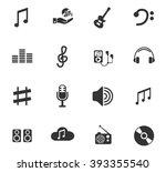music web icons for user...   Shutterstock .eps vector #393355540