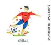football championship. spanish... | Shutterstock .eps vector #393358549