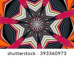 abstract design in multicolor | Shutterstock . vector #393360973