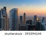 Scenic Rooftop View Of Dubai's...