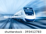 high speed train | Shutterstock . vector #393412783