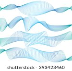 abstract beautiful wave  | Shutterstock .eps vector #393423460