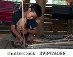 mae ramat  tak  thailand  ... | Shutterstock . vector #393426088