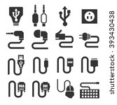 Cable Icon Set