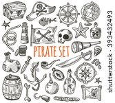 Freehand Pirate Set For Your...