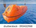 Rescue Boat Or Life Boat At Oi...