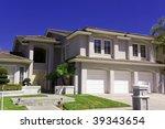 luxury house | Shutterstock . vector #39343654