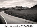 Road Leading To Blaven Mountai...
