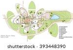 beautiful house  first floor...   Shutterstock . vector #393448390