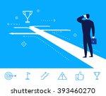 flat design vector concept...   Shutterstock .eps vector #393460270