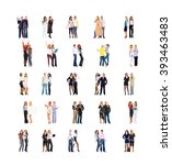 business picture united company    Shutterstock . vector #393463483