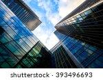 skyscraper office business... | Shutterstock . vector #393496693