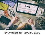 Blog Weblog Media Digital...
