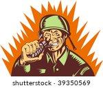 Illustration Of A World War Tw...