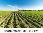 Spraying Soybean Crops