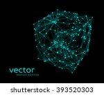 abstract vector illustration of ... | Shutterstock .eps vector #393520303