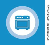 stove icon . vector illustration   Shutterstock .eps vector #393529123
