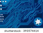close up of electronic circuit...   Shutterstock . vector #393574414