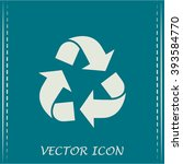 recycle vector sign   Shutterstock .eps vector #393584770