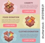 Donation Vector Concept...