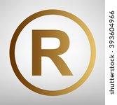 registered trademark sign | Shutterstock .eps vector #393604966