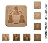 set of carved wooden online...