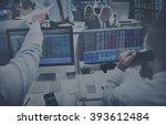 business team investment...   Shutterstock . vector #393612484