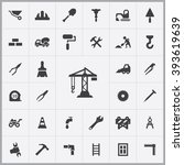 simple construction icons set....