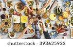 friends happiness enjoying...   Shutterstock . vector #393625933
