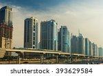 Metro Line Going Through Dubai...