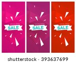 super sale special offer... | Shutterstock .eps vector #393637699