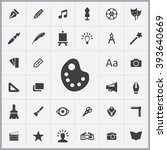 simple design icons set....