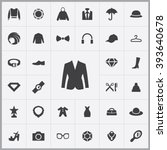 Simple fashion icons set. Universal fashion icons to use for web and mobile UI, set of basic fashion elements    Shutterstock vector #393640678