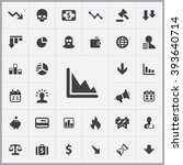 simple crisis icons set....