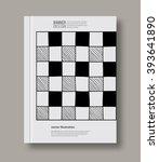 abstract design templates.... | Shutterstock .eps vector #393641890