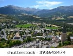 little french town in france | Shutterstock . vector #393643474