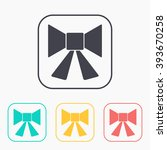 xmas color icon set    Shutterstock .eps vector #393670258