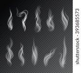 Smoke Isolated On Transparent...