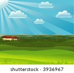 countryside landscape  other... | Shutterstock .eps vector #3936967