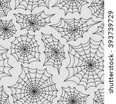 spider's web seamless... | Shutterstock .eps vector #393739729