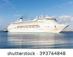 large luxury cruise liner | Shutterstock . vector #393764848