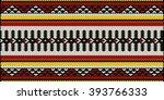 traditional arabian style sadu...   Shutterstock .eps vector #393766333