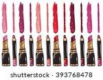 Vector Fashion Sketch Makeup...