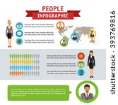 people infographic design | Shutterstock .eps vector #393769816