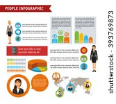 people infographic design | Shutterstock .eps vector #393769873